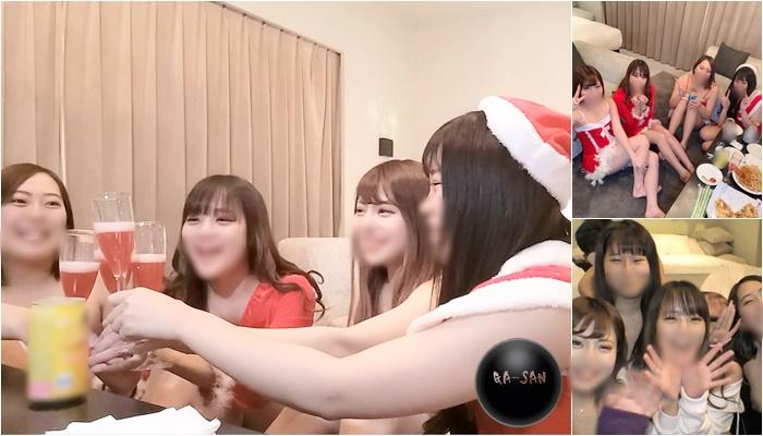 FC2 PPV 1612555 2020年ギャル4人のクリスマスパーティ 本編前先行動画65分